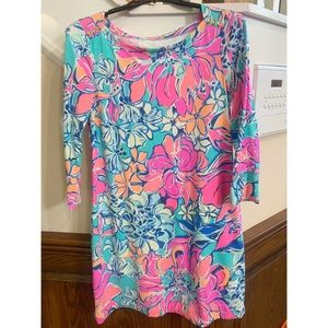 EUC Small Lilly Pulitzer 3/4 sleeve dress